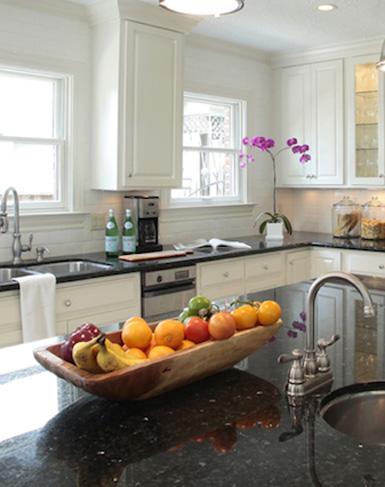 Kitchen Counter Decorative Accessories belle maison: styling 101: the kitchen countertop