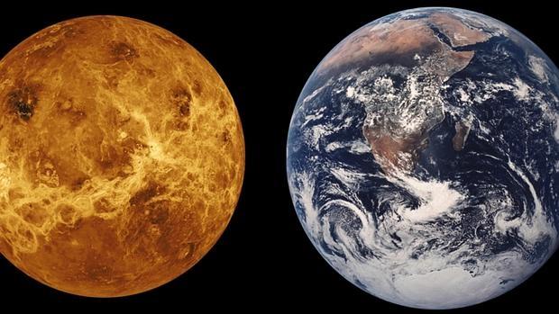 Porqué vivimos en la Tierra y no en Venus
