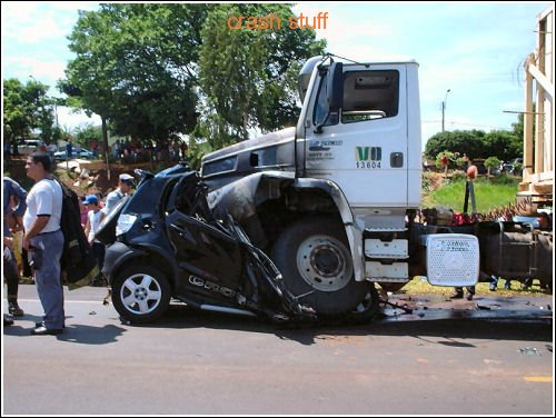 Crash Cars Crash: Small car vs Big car – Crash