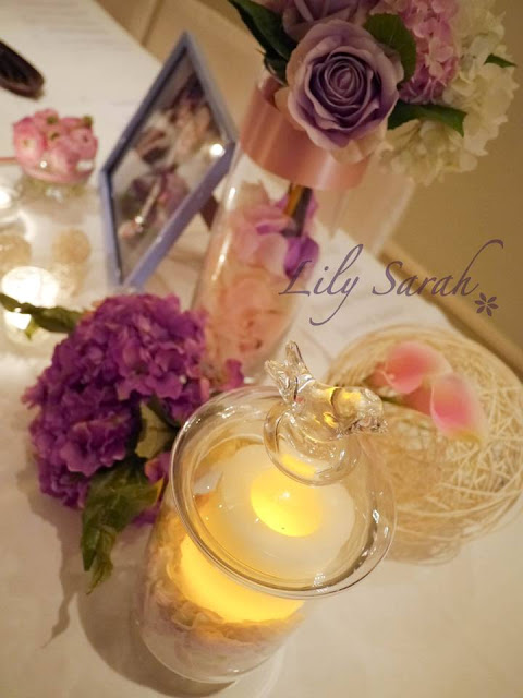 wedding decoration by Lily Sarah