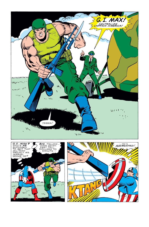 Captain America (1968) Issue #331 #260 - English 18