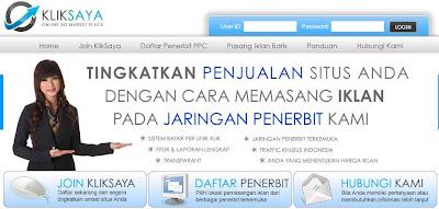KlikSaya.Com: PPC Lokal Populer di Blogger