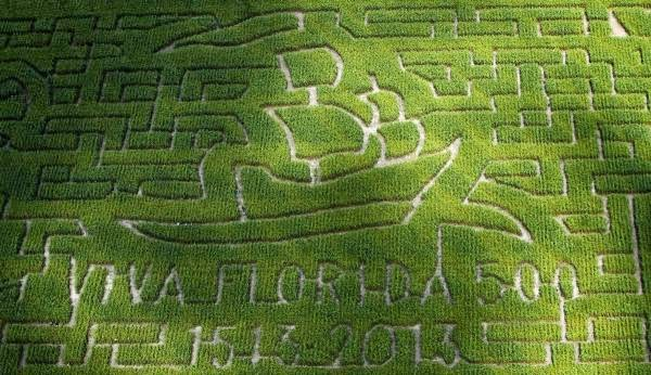 Elkton farm continues to a-maze | StAugustine.com 3  NEW+100413+Aerial+Maze+1 St. Francis Inn St. Augustine Bed and Breakfast