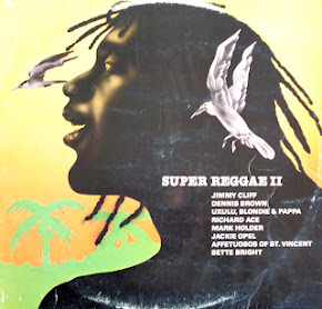 SUPER REGGAE VOL 2 LP(COM MELO DE MILK & MOUSE) EX EX