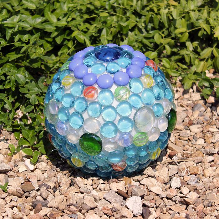 DIY Glowing Garden Ball We Made That