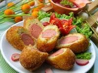 Kroket kentang sosis