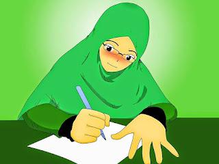 menulis pudar dikalangan santriwati