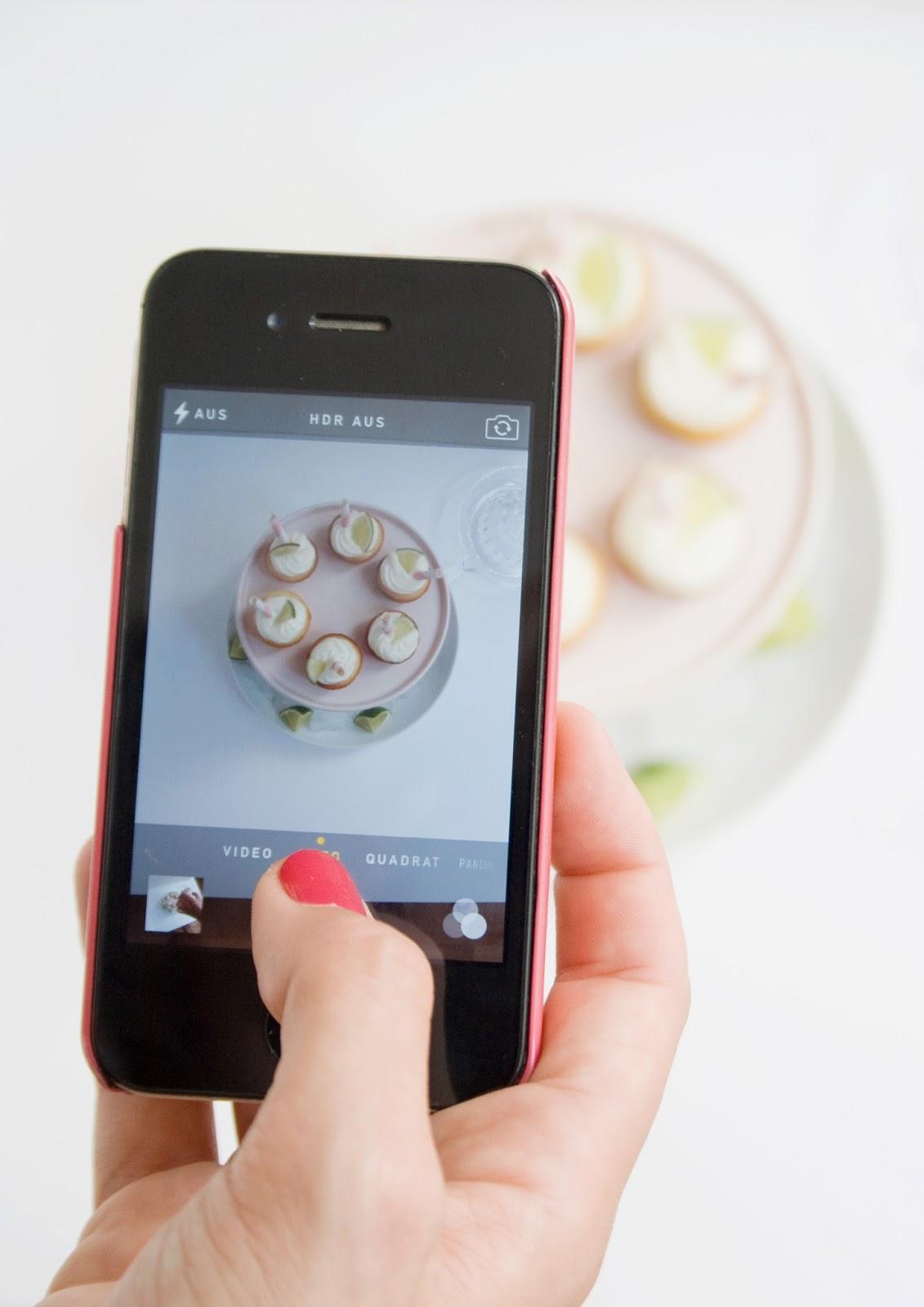 Limettenküchlein iPhone