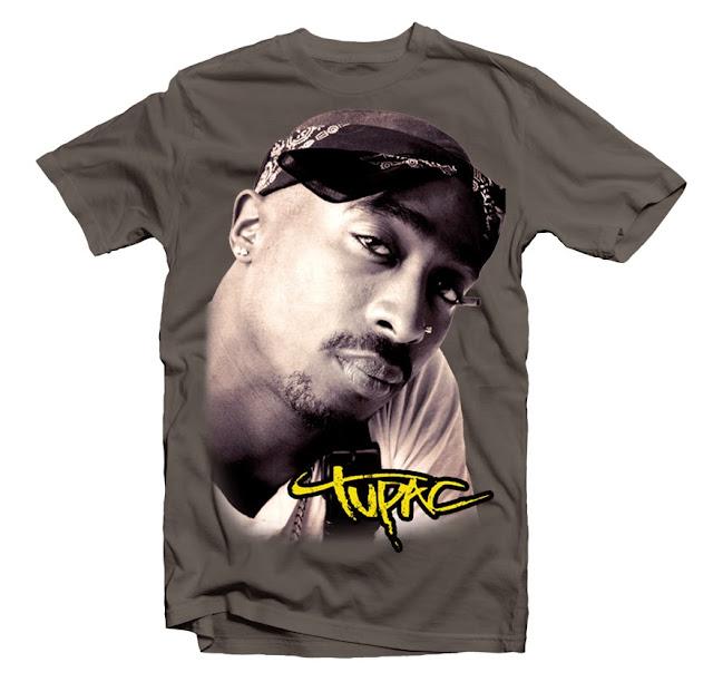 2 pac tshirt design