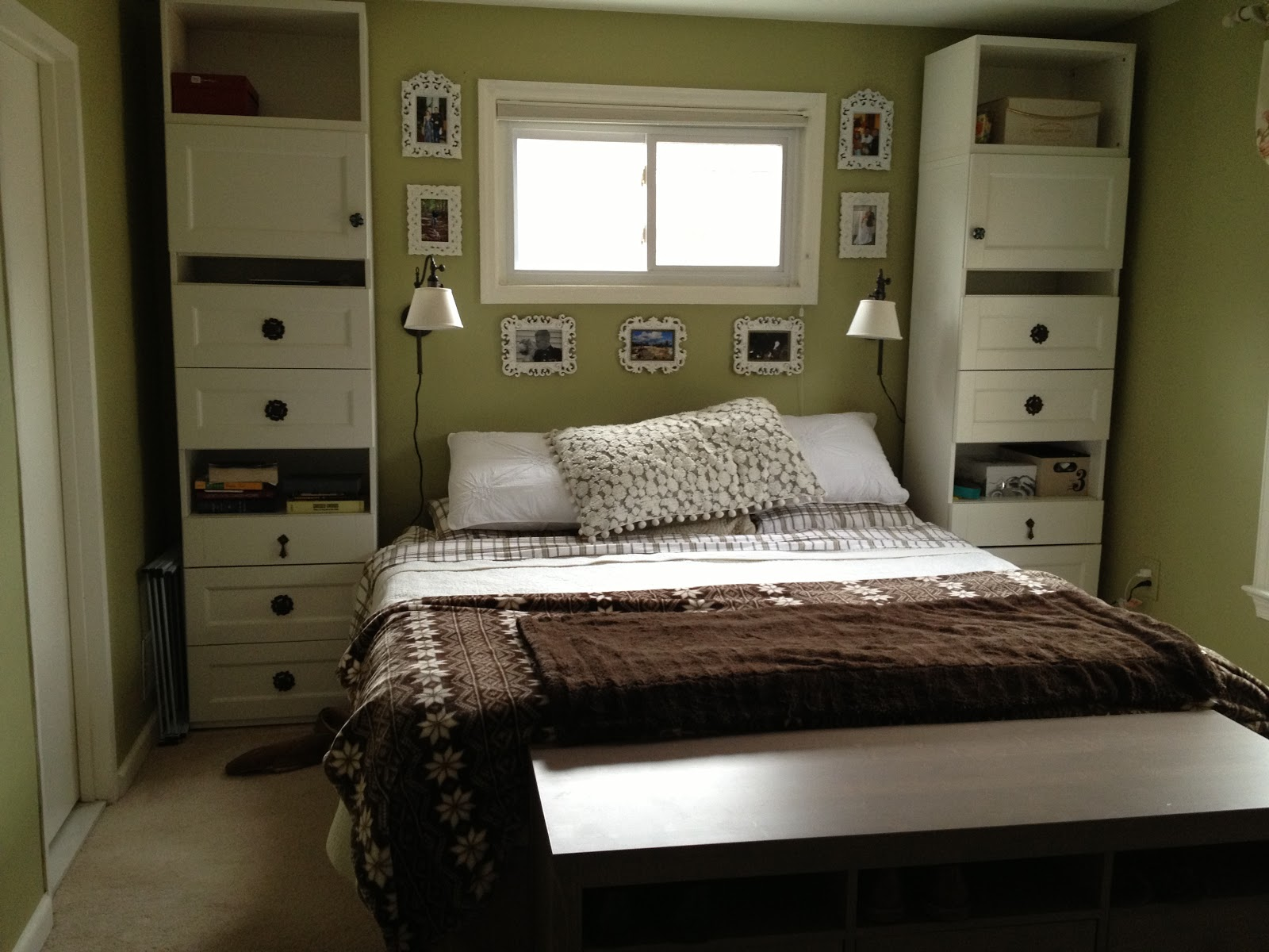 Chez dufresne master bedroom makeover for Ikea bedroom storage