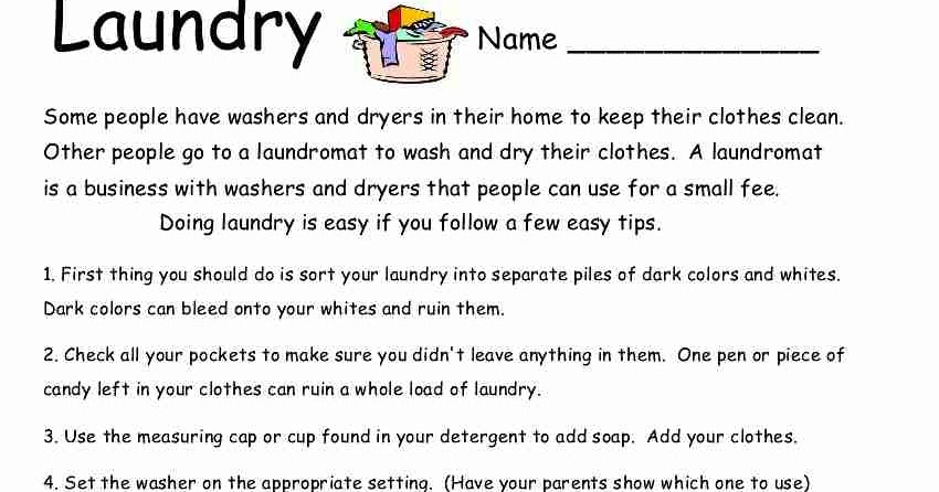 Empowered By THEM: Laundry