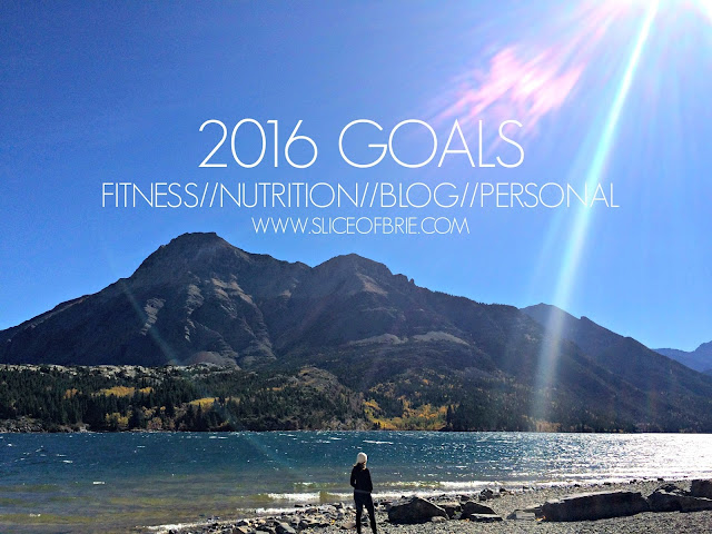 2016 fitness, nutrition, blogging and personal goals
