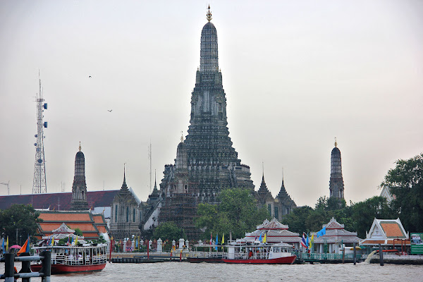 Templo del Amanecer - Bangkok - Tailandia