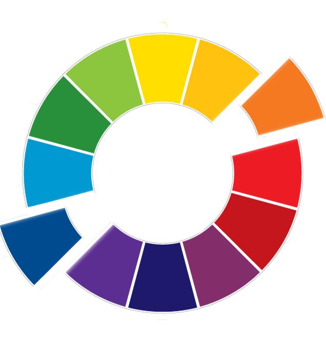 Souvenir de ma vie kleurenleer 5 - Warme en koude kleuren in verf ...