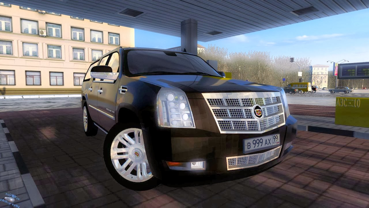 City Car Driving Cadillac Escalade Download
