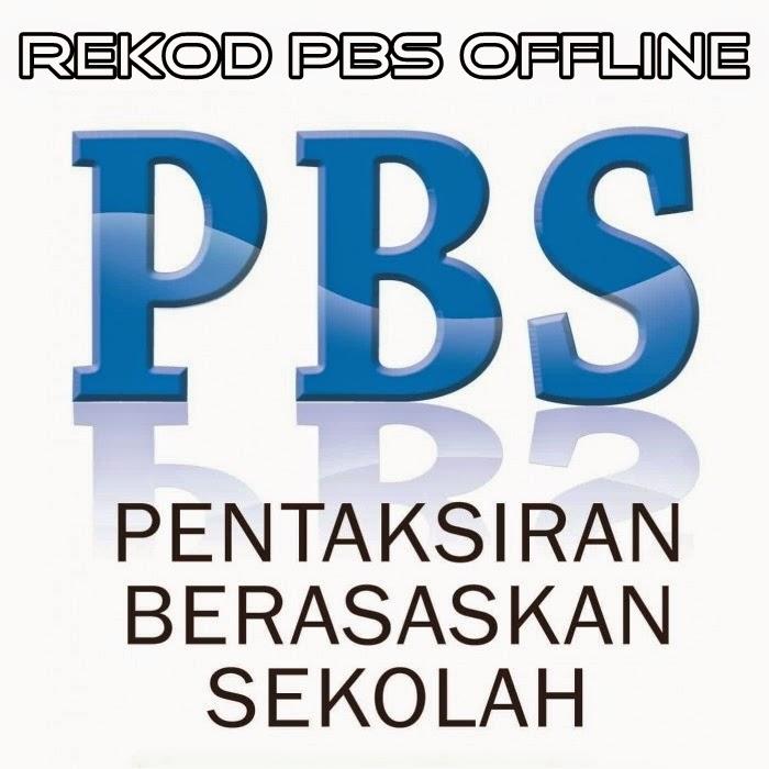 Borang Pelaporan PBS Offline Tahun 5