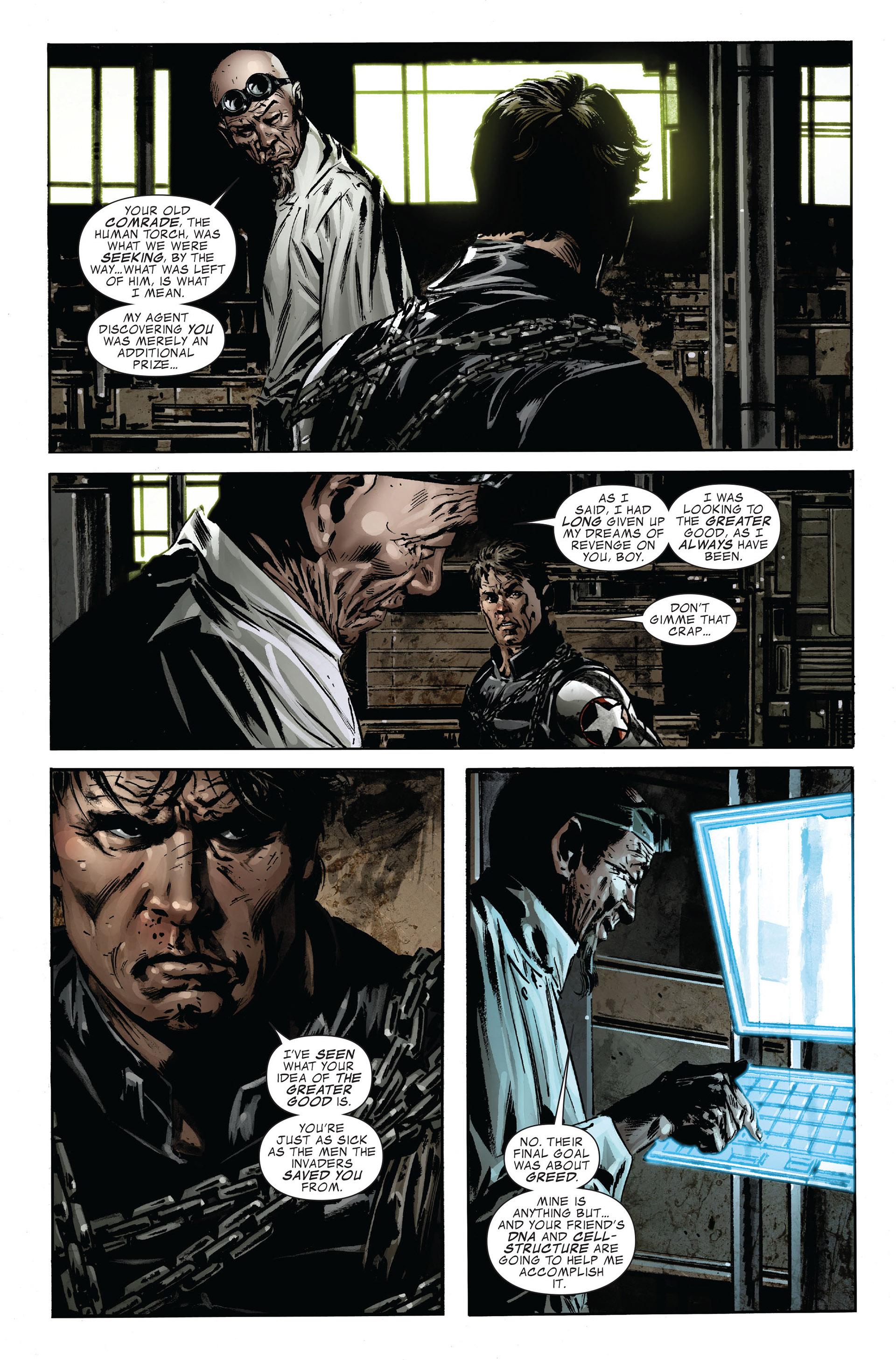 Captain America (2005) Issue #47 #47 - English 19