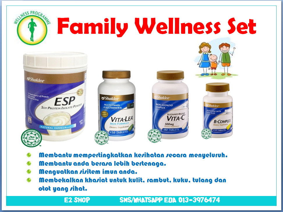 FAMILY WELLNESS SET