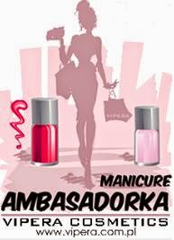 Kosmetyka89 Ambasadorką Manicure Vipera