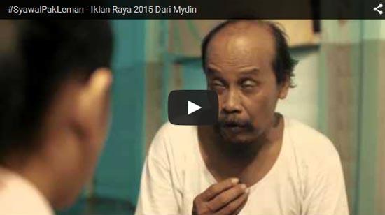 Syawal Pak Leman - Iklan Raya 2015 Dari Mydin