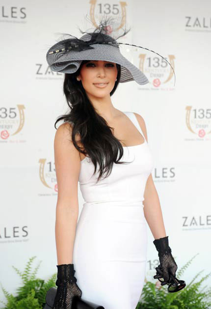 Celebrity on Kentucky Derby 2011