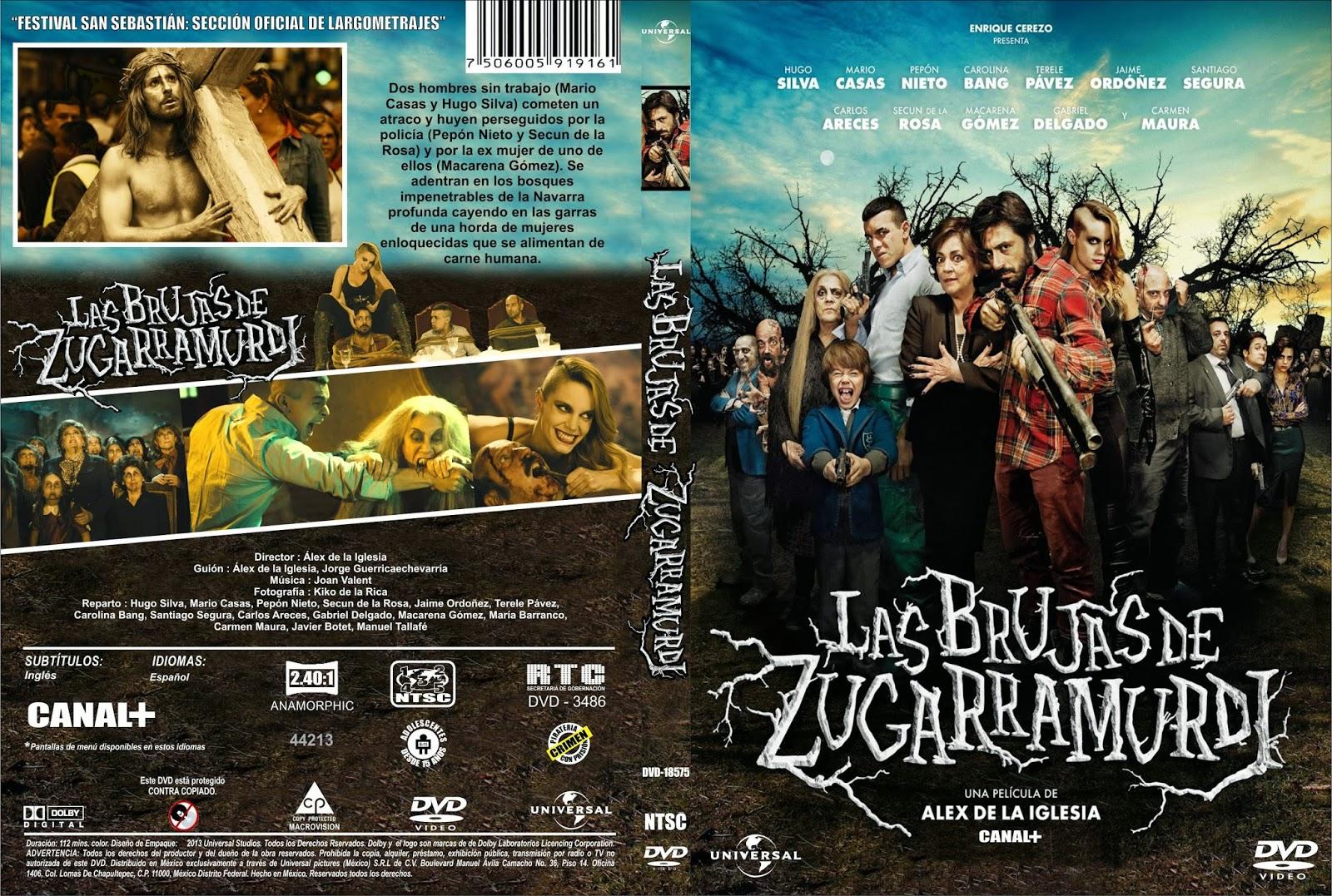 Las Brujas De Zugarramurdi DVD
