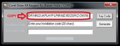 free download keygen coreldraw x4