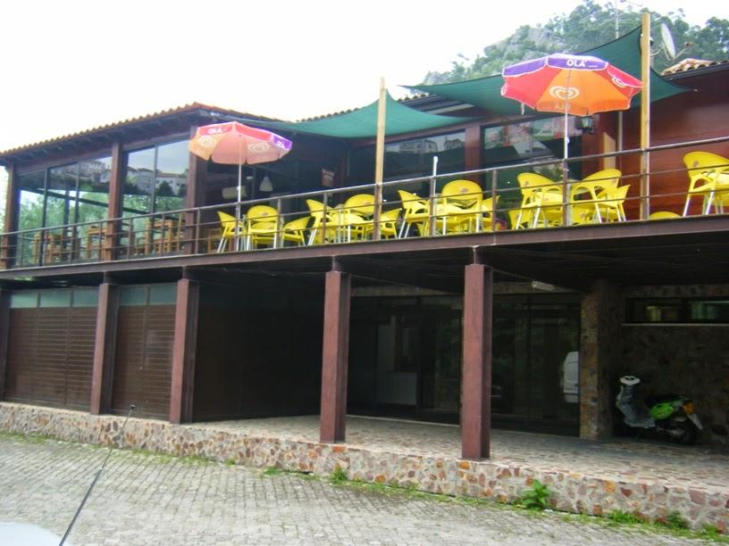 Esplanada do Bar - Café do Reconquinho