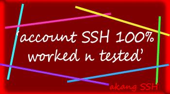 SSH Gratis 22 23 24 Maret 2014 Server Singapore dan Jepang