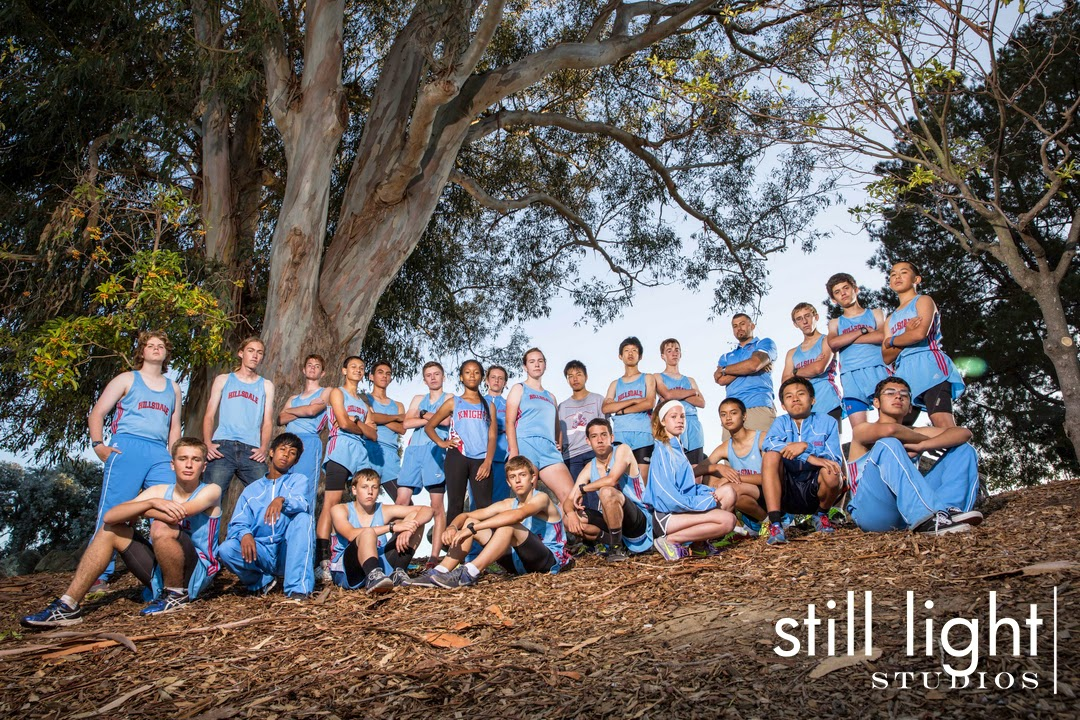San Mateo Hillsdale High School Cross Country Team Photo by Still Light Studios, School Sport and Senior Photography in Bay Area, nature, cinematic