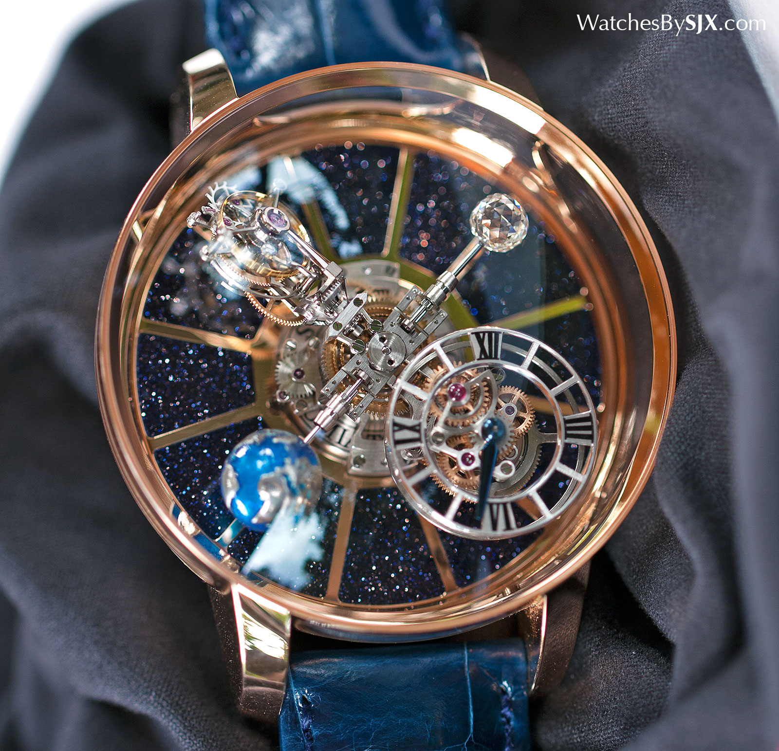 Watches by sjx hands on with the jacob co astronomia tourbillon for Watches jacob and co