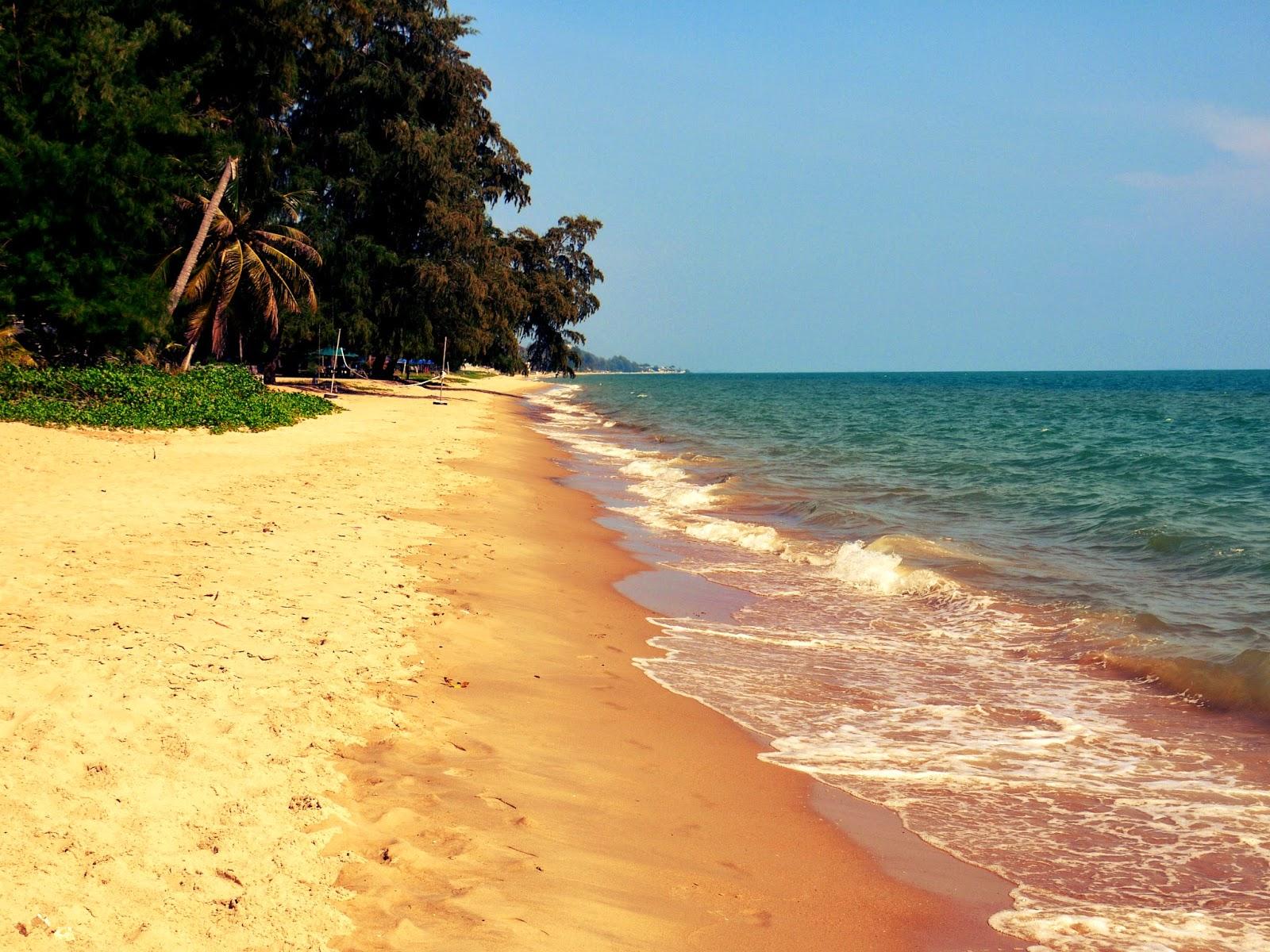 Пустынные пляжи Районга
