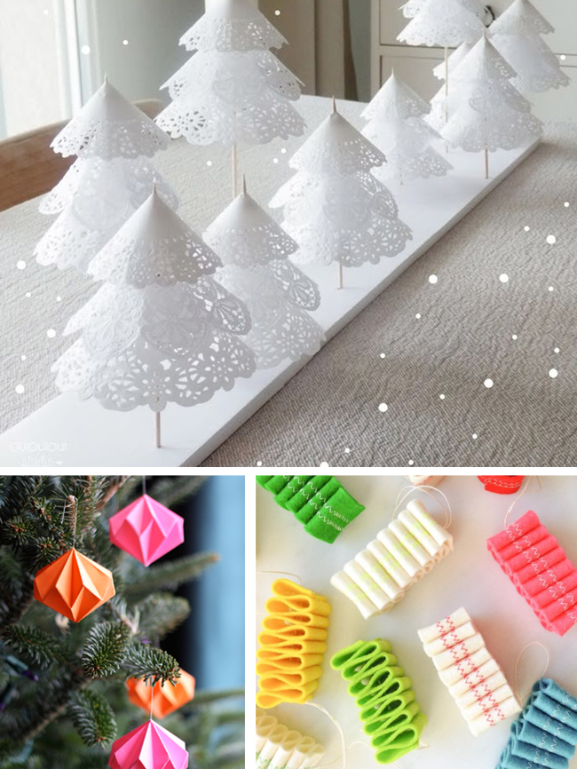 Last Minute Holiday Decor : 4 Easy DIY Projects shared on CreativelyCurated.com #creativelycurated #diy #holidays