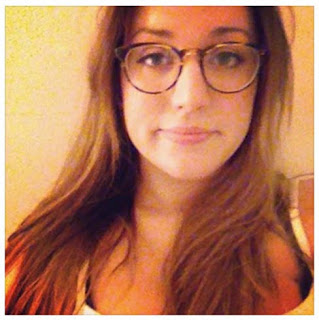 Ashley Rose in her Warby Parker frames.