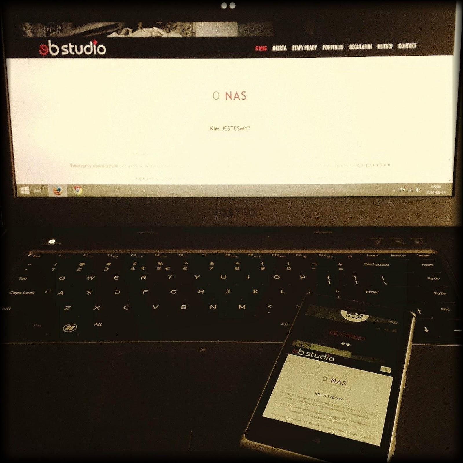 strona RWD HTML5