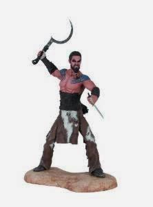 Figura de Khal Drogo, por Dark Horse