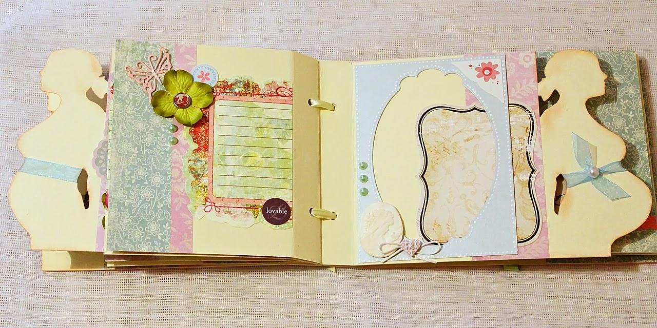 Дневник скрапбукинг своими руками 9