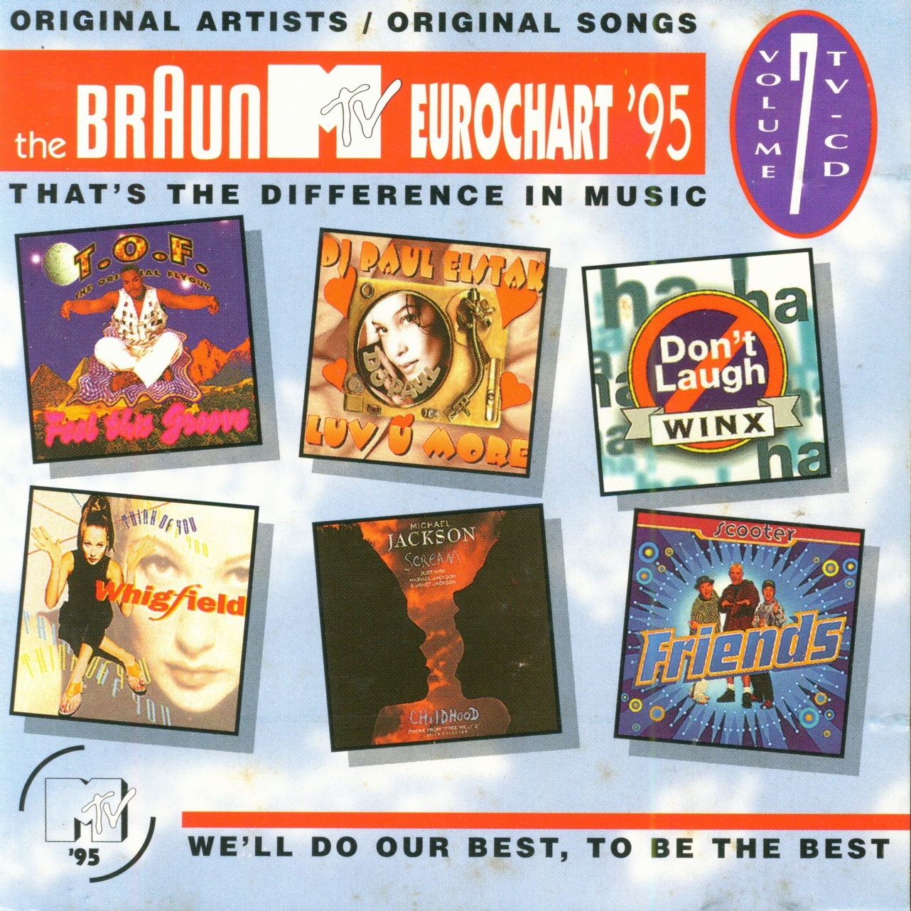Various The Braun MTV Eurochart '99 - Volume 11