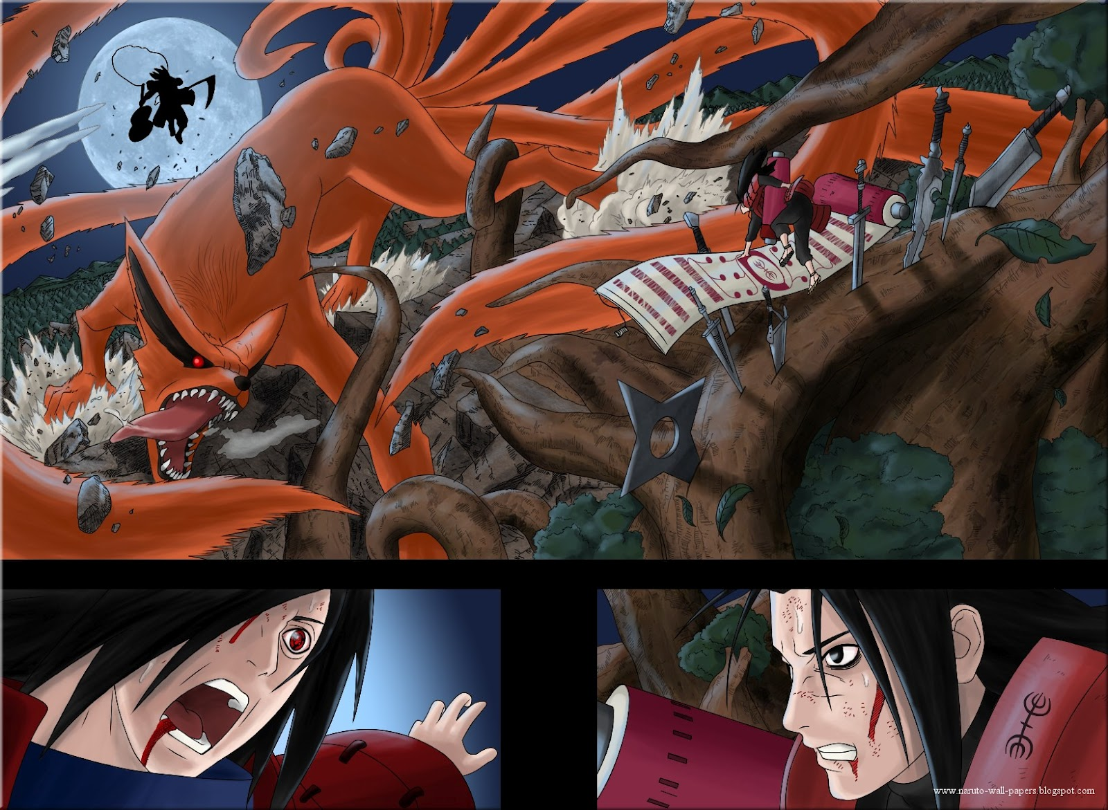 Pein Vs Madara