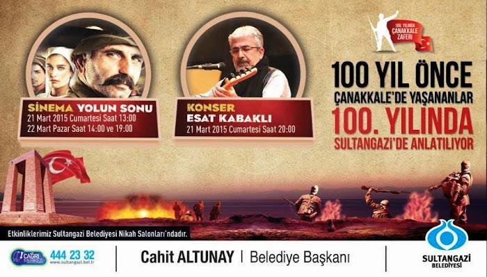 Sultangazi'de Çanakkale 100. Yıl Etkinlikleri