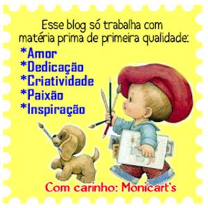 Selinho Monicart's, obrigada...