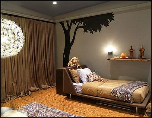 outdoors theme bedroom ideas treehouse themed rooms boys