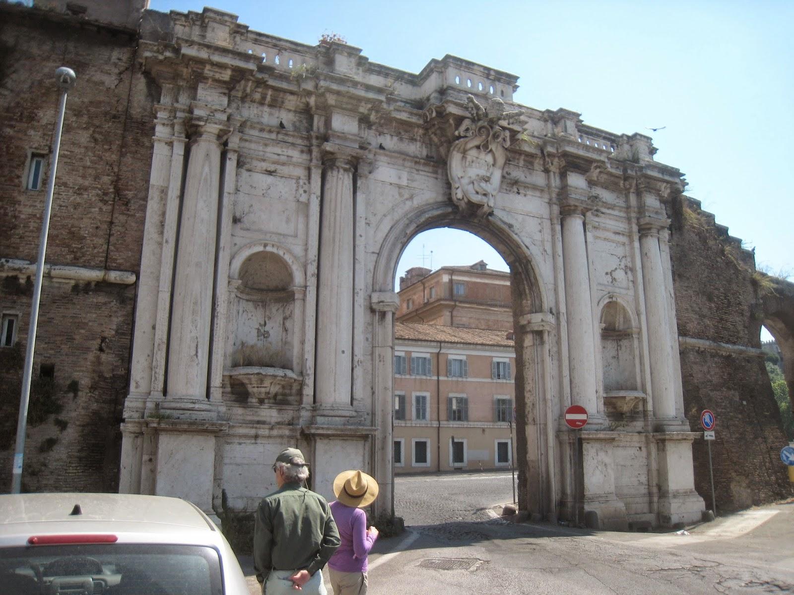 Rome the second time wall walk iv porta portese to the - Porta portese roma case ...