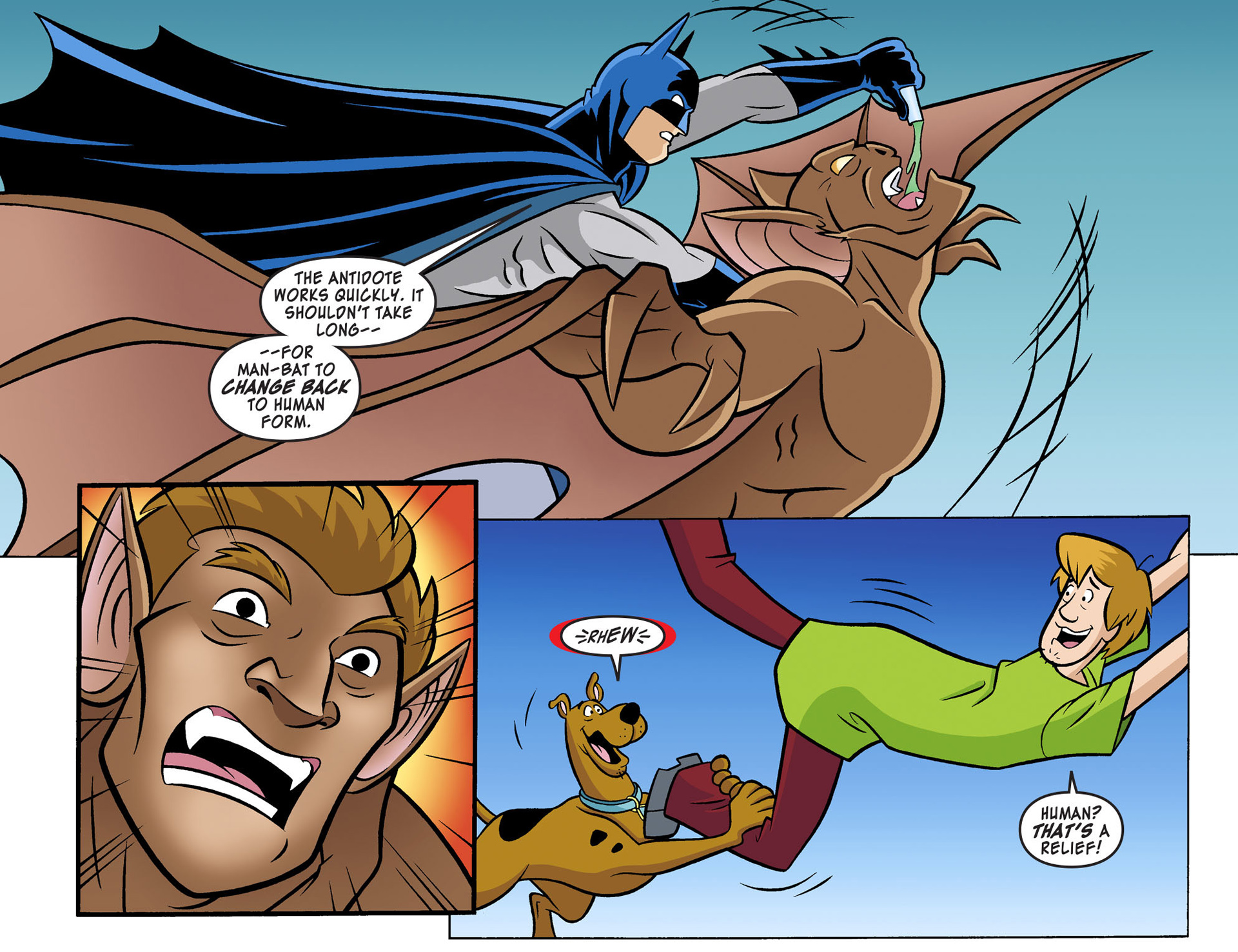Read online Scooby-Doo! Team-Up comic -  Issue #2 - 17