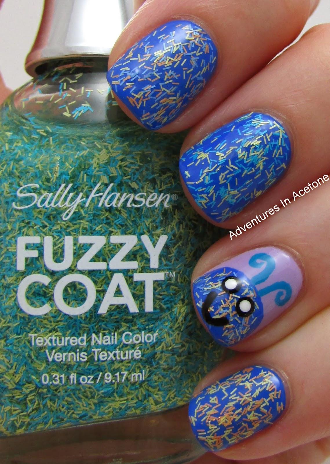 Sally Hansen Fuzzy Coat Monster! - Adventures In Acetone