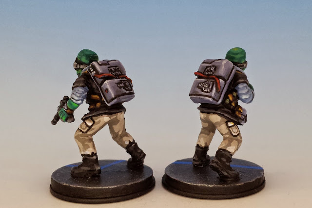 Rebel Saboteurs, Fantasy Flight Games (2014, sculpted by Benjamin Maillet, painted by M. Sullivan)