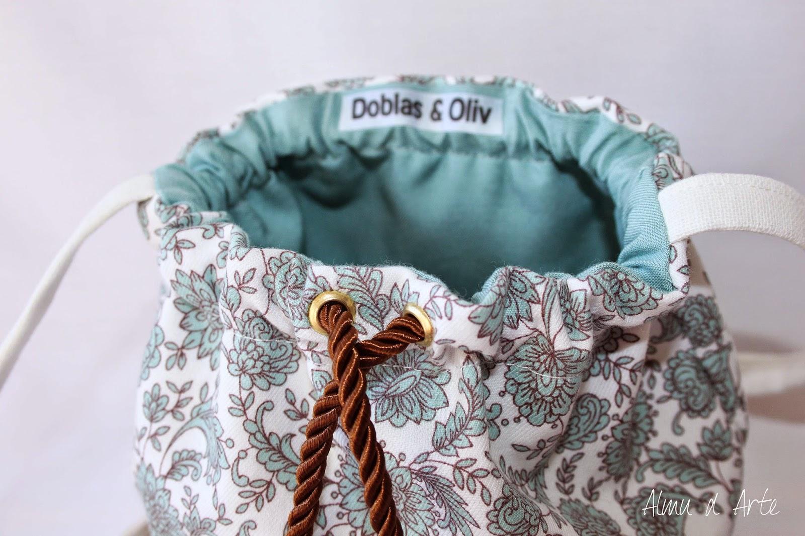 Bolsos de tela de saco hechos a mano - Telas para hacer bolsos ...