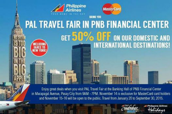 Planning a trip on 2015? PAL launches 3-day travel fair this weekend