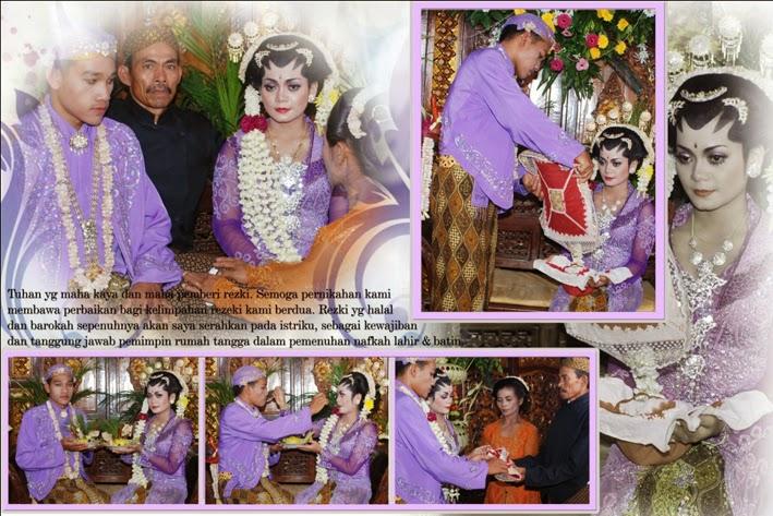 foto dan video wedding saat acara adat jawa kacar kucur
