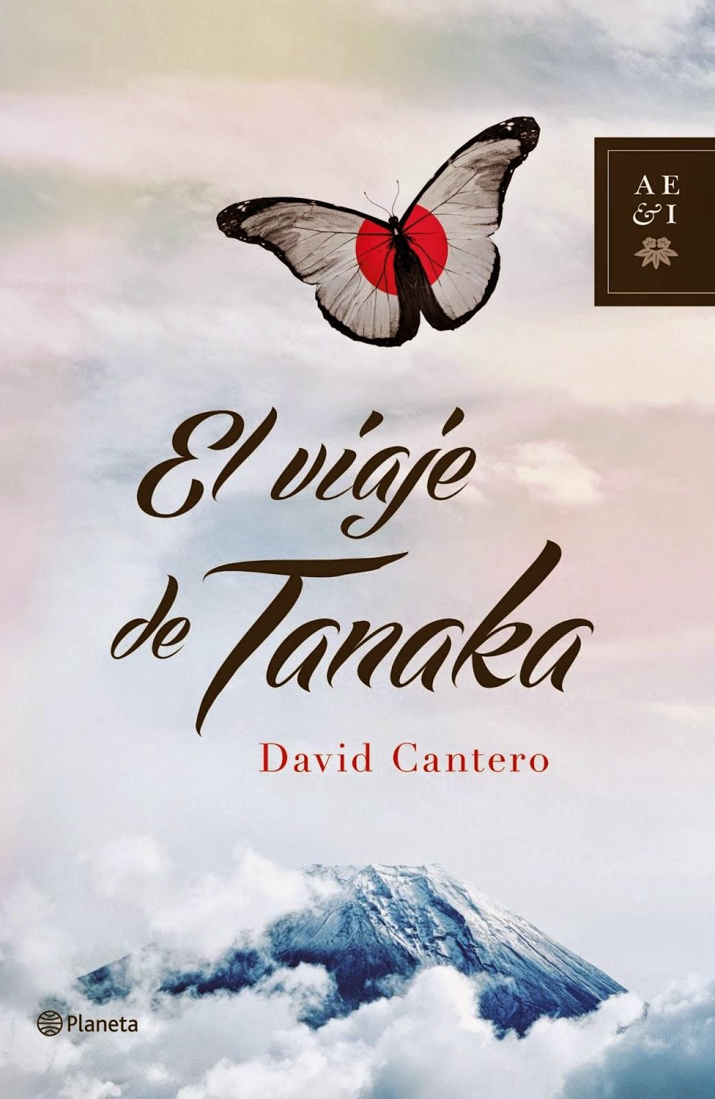 novela el viaje de tanaka david cantero